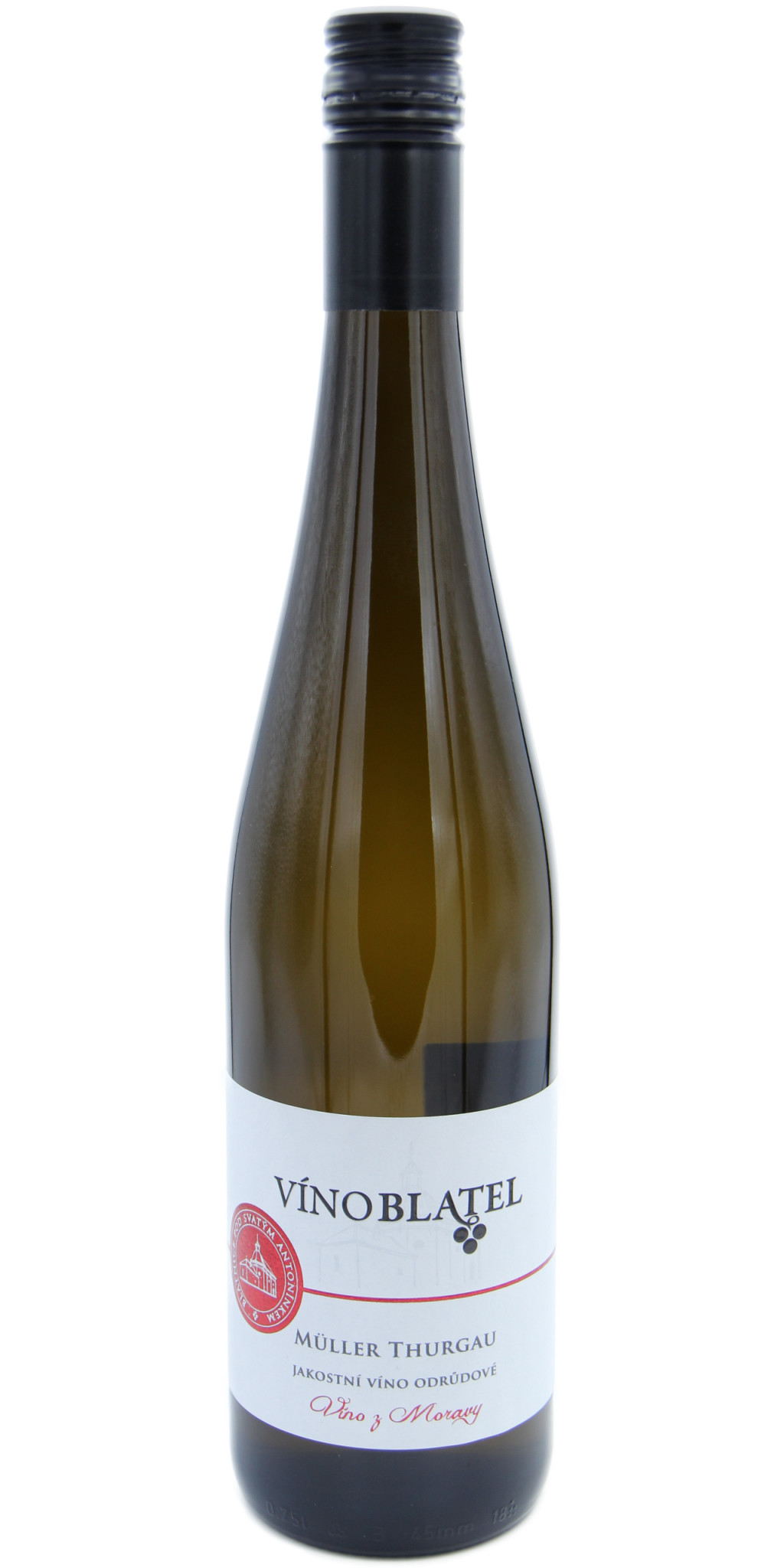 Müller Thurgau, polosuché, jakostní víno odrůdové