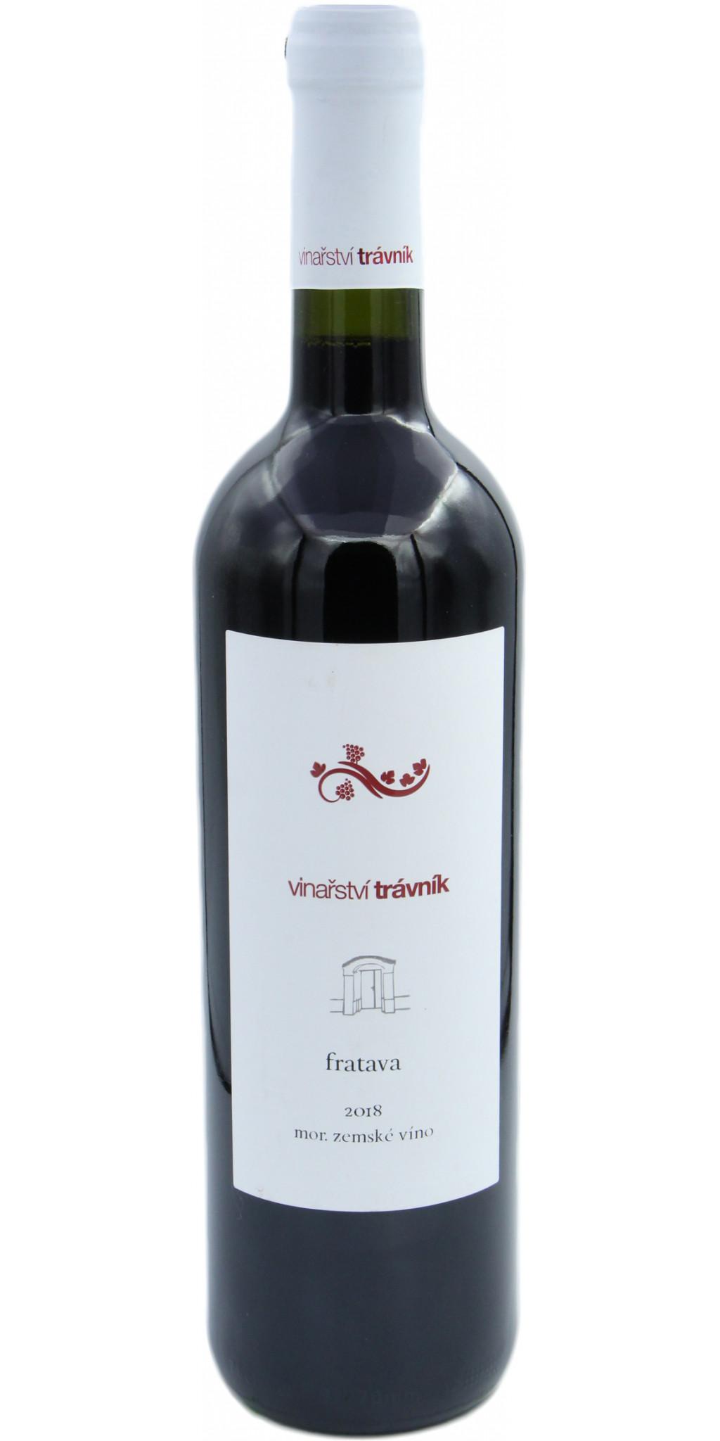 Fratava, suché, zemské víno, 2018